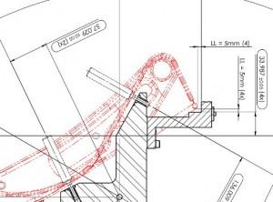 Bespielfoto technische Zeichnung